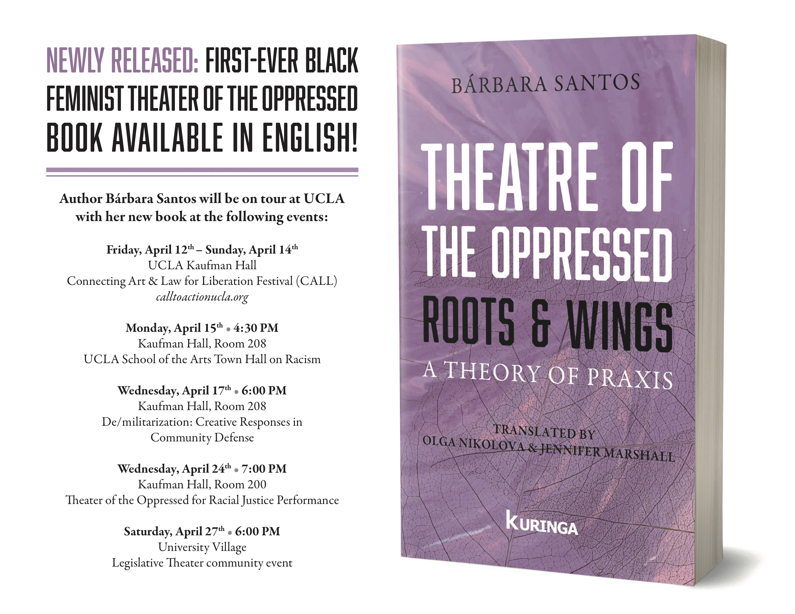 Book Tour: Roots & Wings